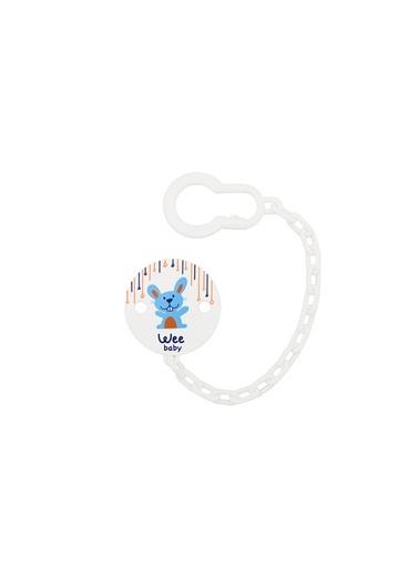 Wee Baby 901 Desenli Emzik Askısı - Tavşan-Wee
